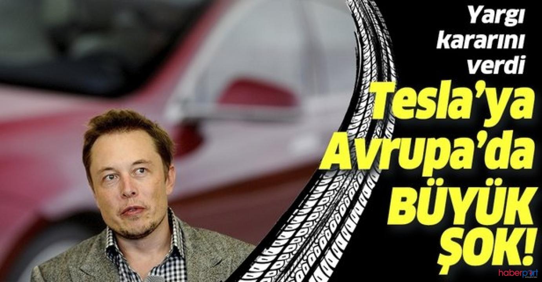 Almanya mahkemesi'nden Tesla'ya şok! Yargı fabrika hazırlığını durdurdu