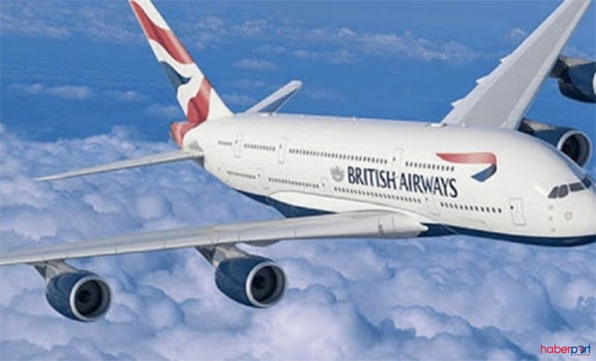 Atlantik'i 4 saat 56 dakikada geçen British Airways rekor kırdı