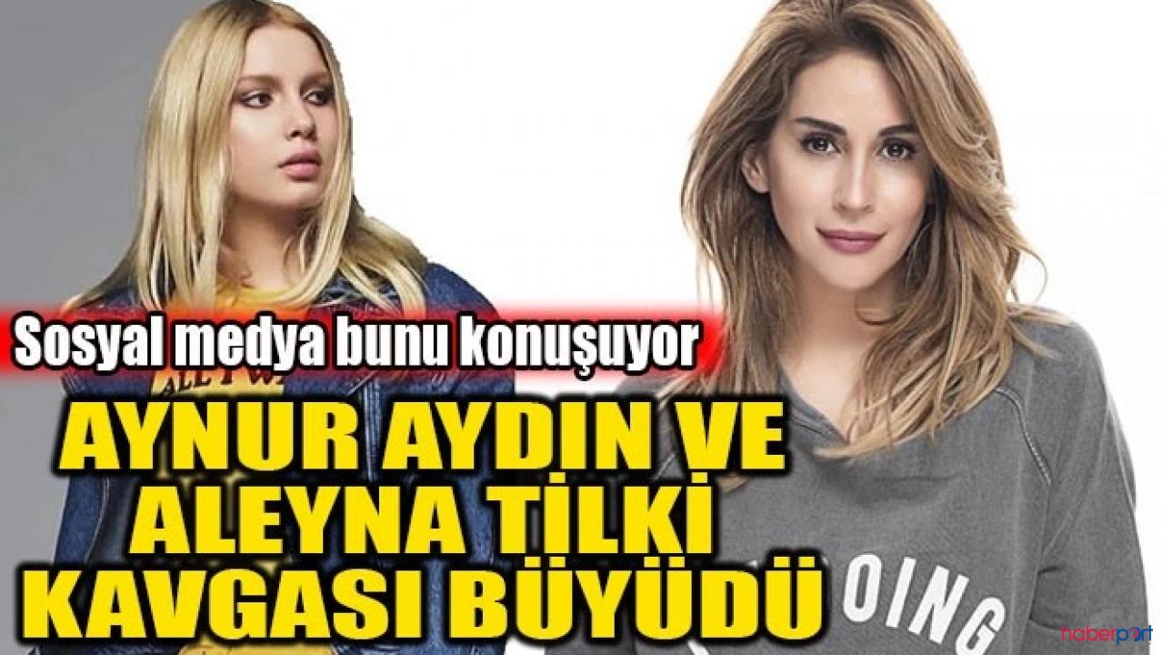 Aynur Aydın ve Aleyna Tilki polemiğine Mehmet Tilki yorumu