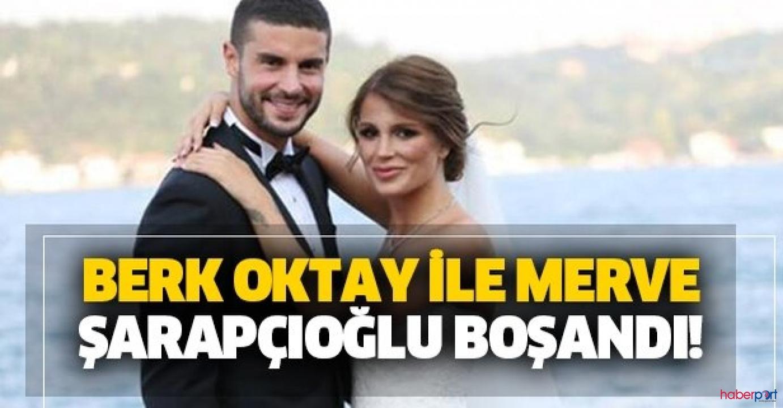 Berk Oktay, kavgalı olduğu eşi Merve Şarapçıoğlu'ndan sonunda ayrıldı