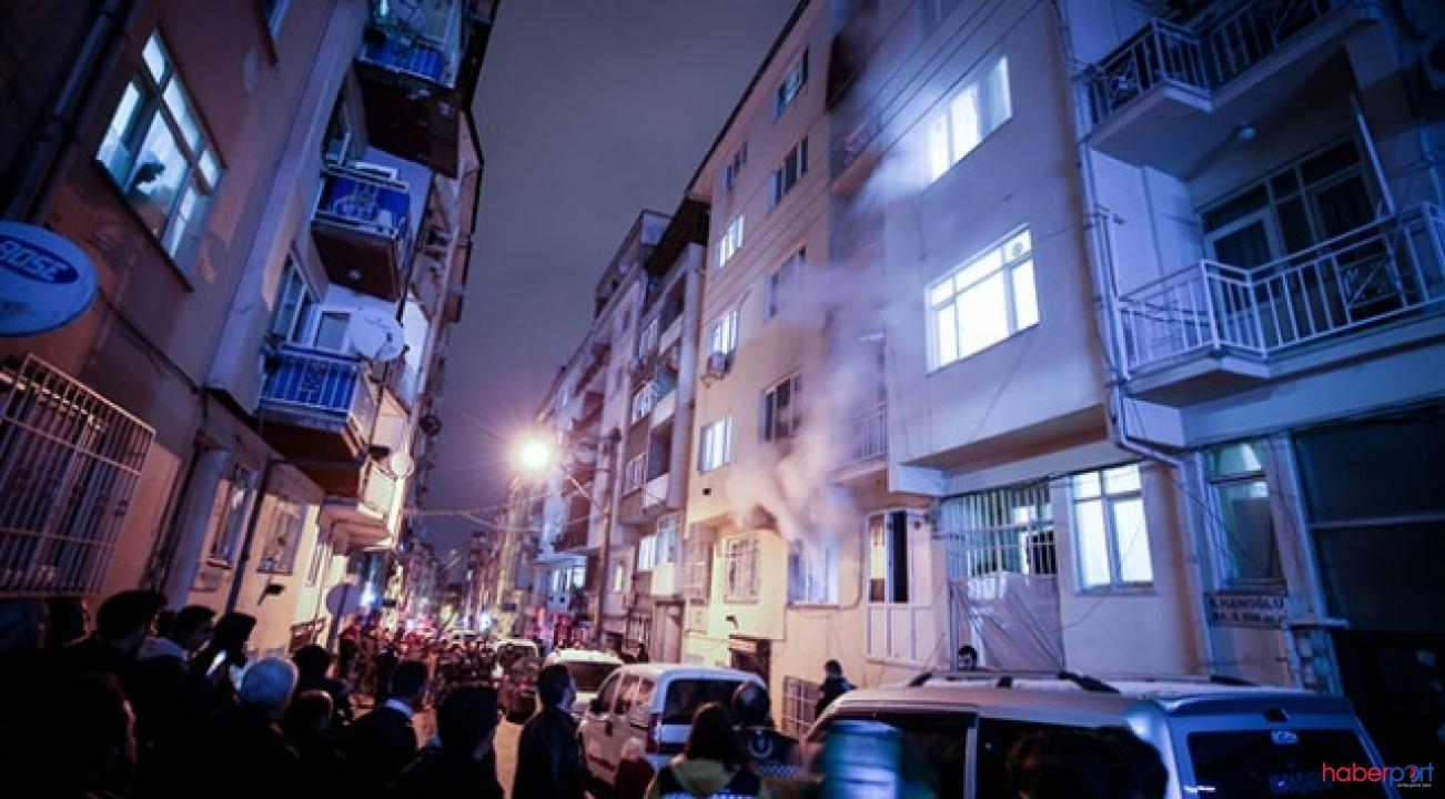 Bursa'da 6 katlı apartmanda çıkan yangında 3 kişi dumandan zehirlendi