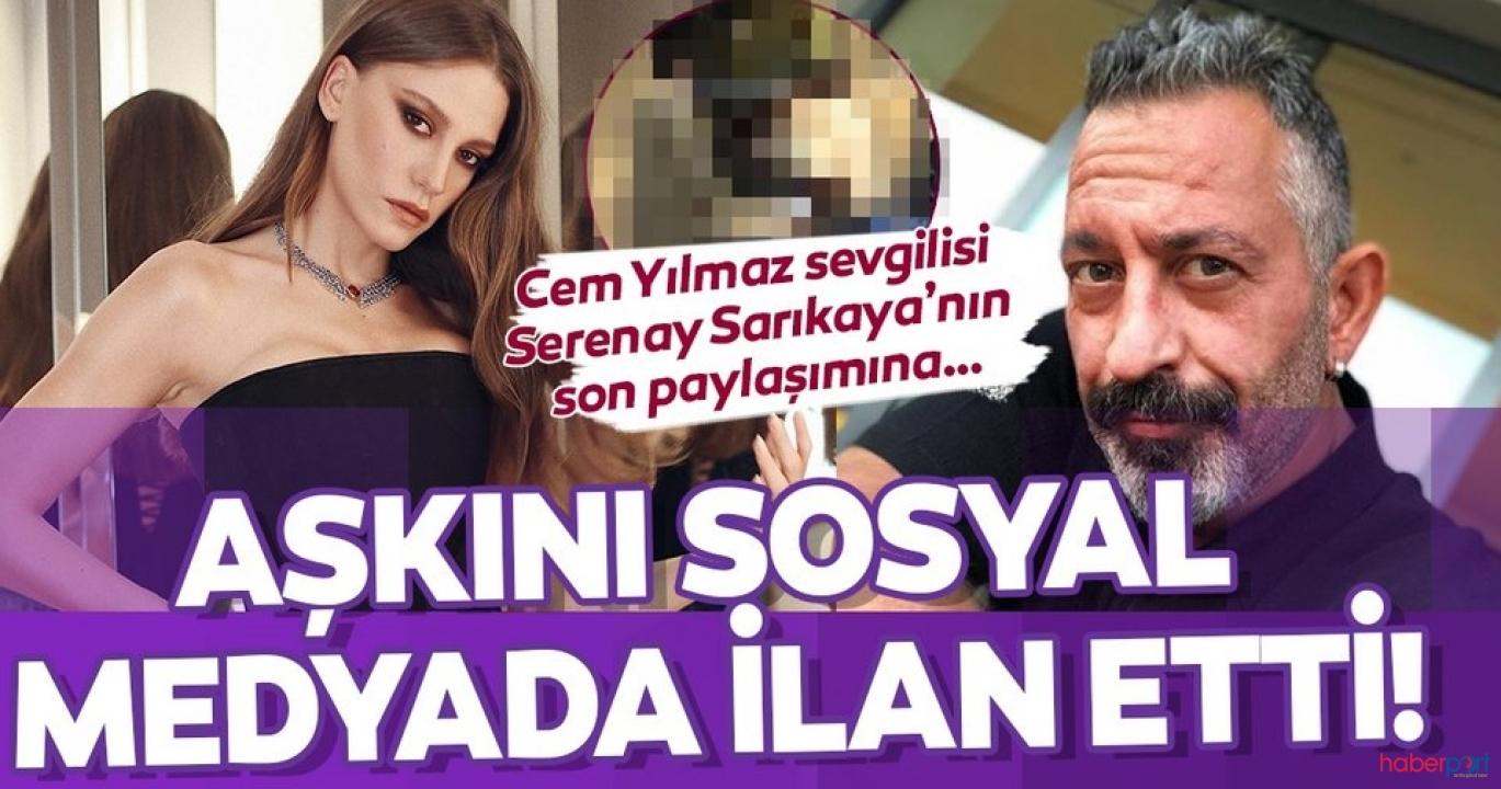 Cem Yılmaz Serenay Sarıkaya'nın fotoğrafına yaptığı yorumla dikkatleri çekti