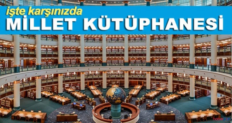 Cumhurbaşkanı açılışını yaptı, Ankara Millet Kütüphanesine kavuştu