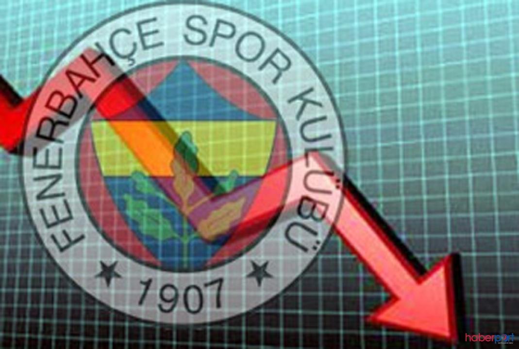 Derbi hisseleri vurdu! Fenerbahçe Borsa'da yüzde 13.3 geriledi