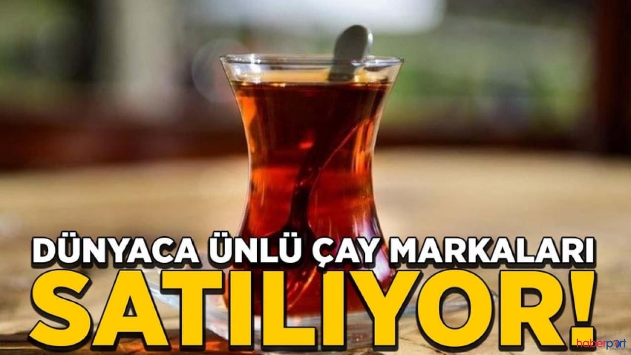 Dünya üzerinde çay satışları düştü! Lipton hisseleri satılıyor
