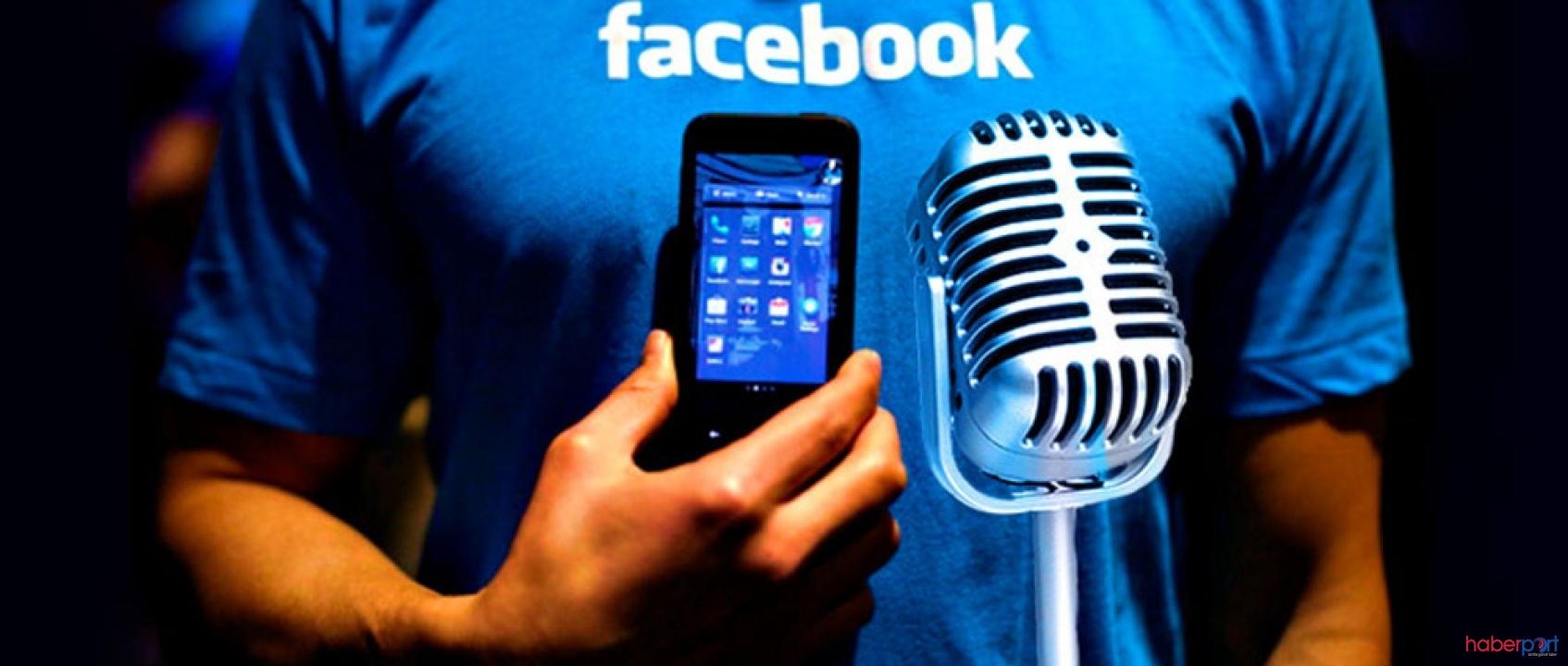 Facebook, ses kaydıyla arkadaşının isimlerini söyleyene para ödüyor