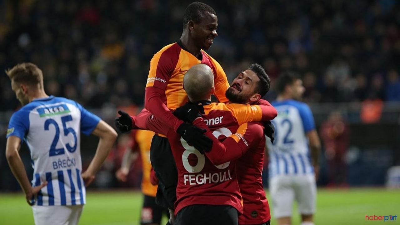 Galatasaray fark yaratmaya devam ediyor