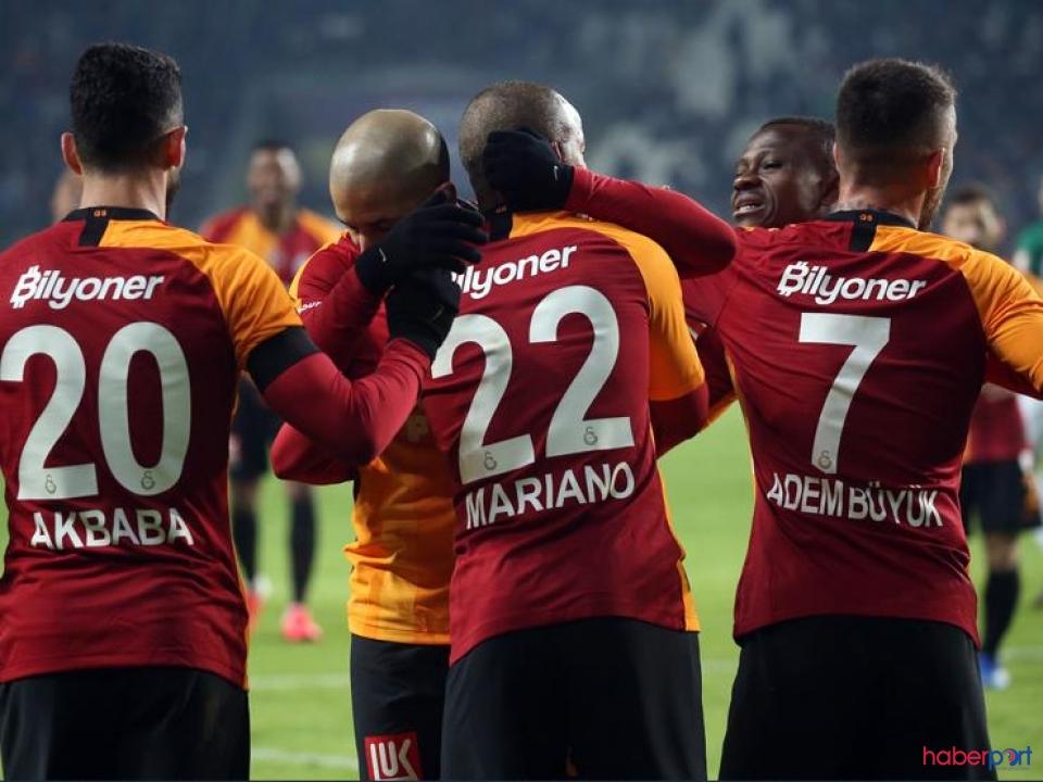 Galatasaray'ın muhteşem 3'lüsü göz dolduruyor