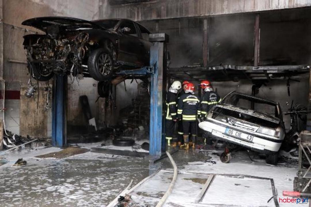 Gaziantep sanayi sitesinde gaz bidonu alev aldı, 1 işçi yaralandı