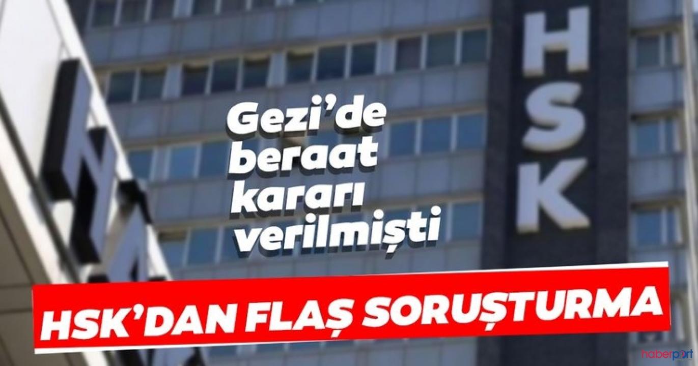 Gezi Davası mahkeme heyetine HSK soruşturma ve inceleme başlattı