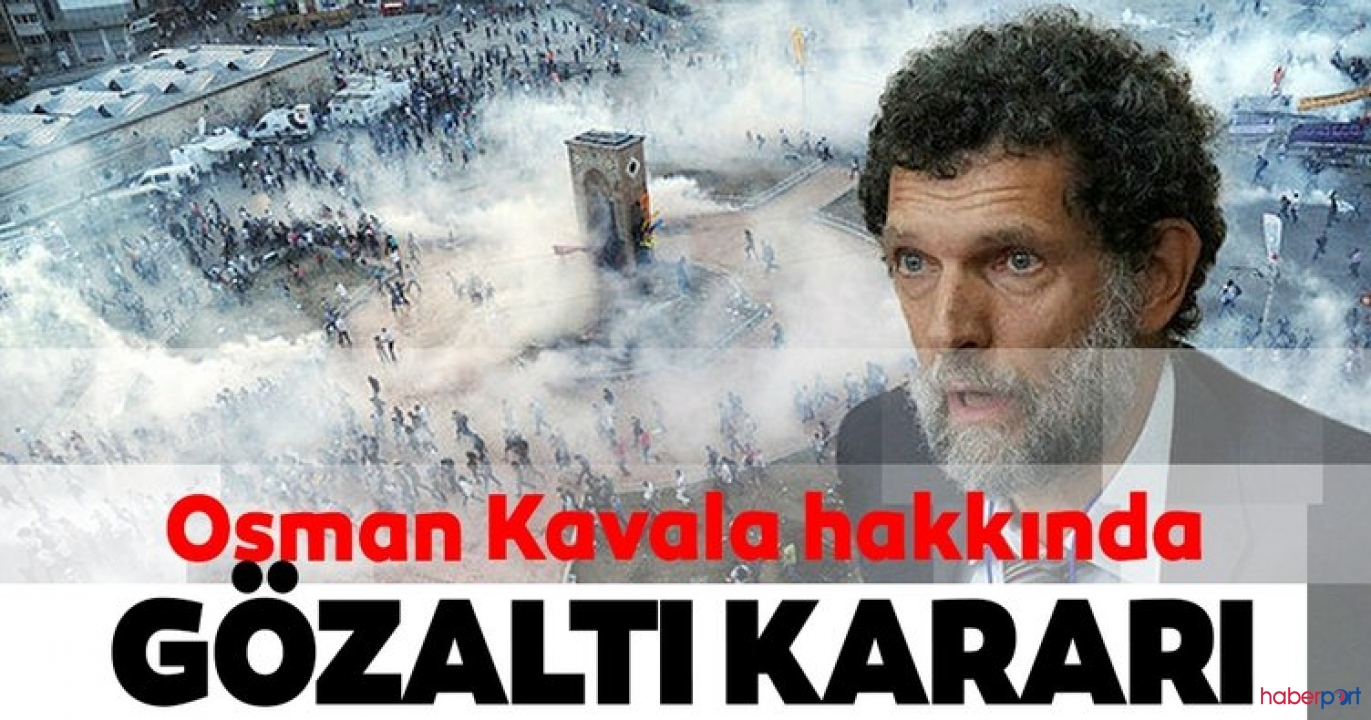 Gezi davasından beraat eden Osman Kavala'ya yeni gözaltı kararı