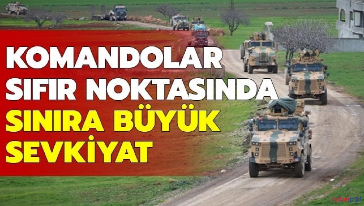 Hatay Reyhanlı'da TSK konvoyları! Komando birlikleri İdlib'e yönlendiriliyor