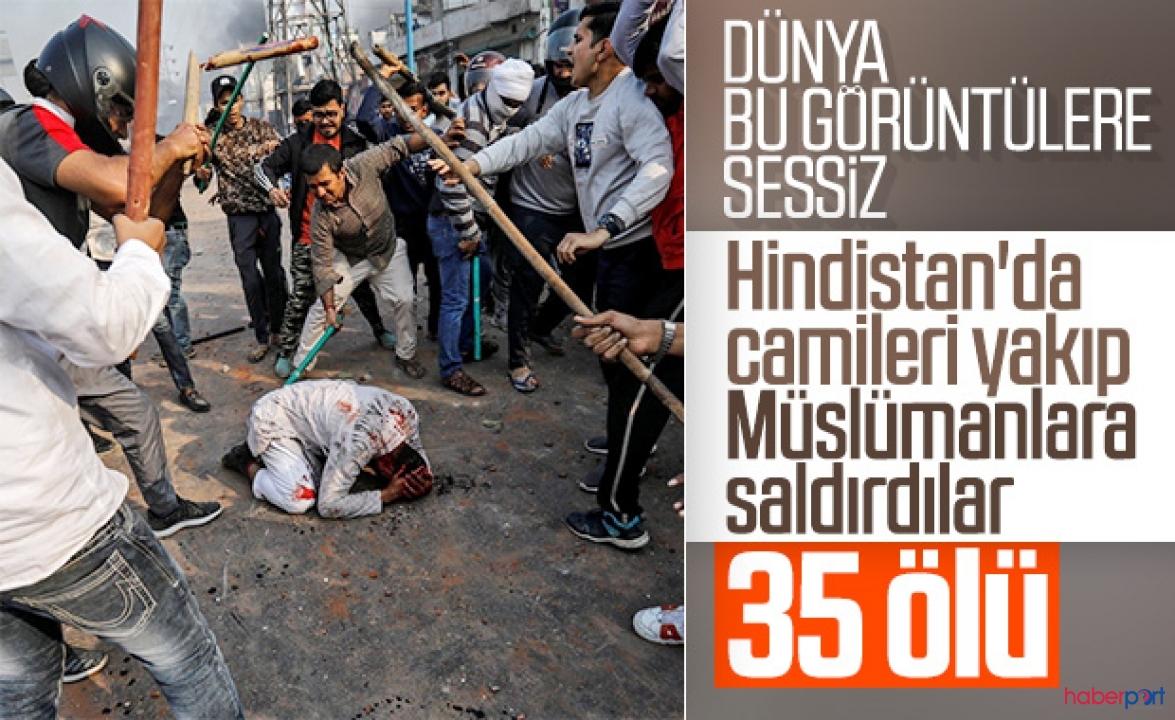 Hindistan'daki ırkçı saldırılarda müslümanlar hedef alındı