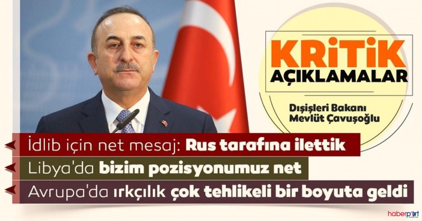İdlib görüşmelerinde neler oldu? Bakan Çavuşoğlu açıkladı!