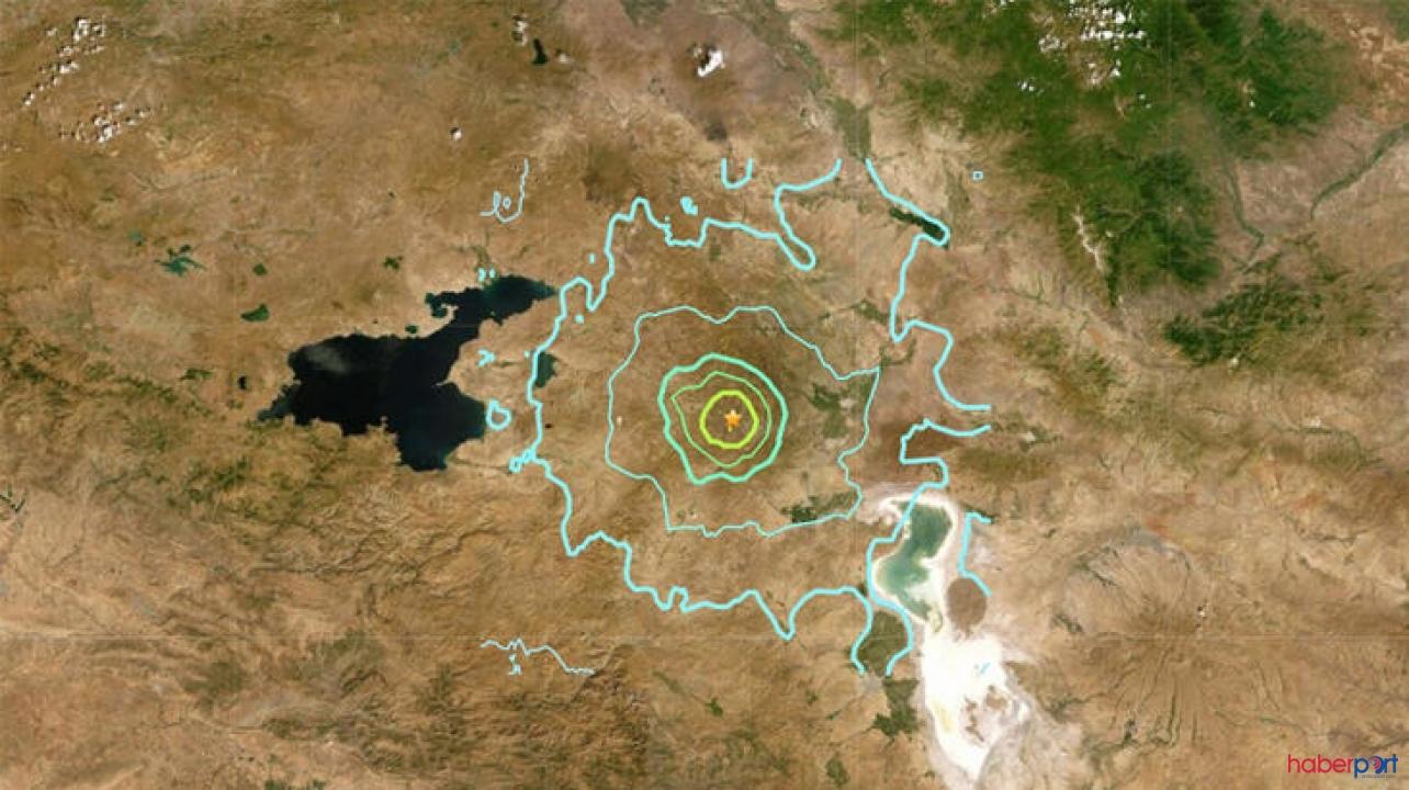 İran'da 5.9 büyüklüğündeki depremde 25 kişi yaralandı