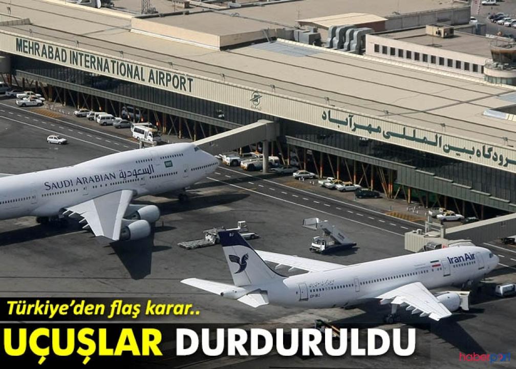 İran'dan Türkiye'ye yapılacak uçak seferlerine koronavirüsü engeli