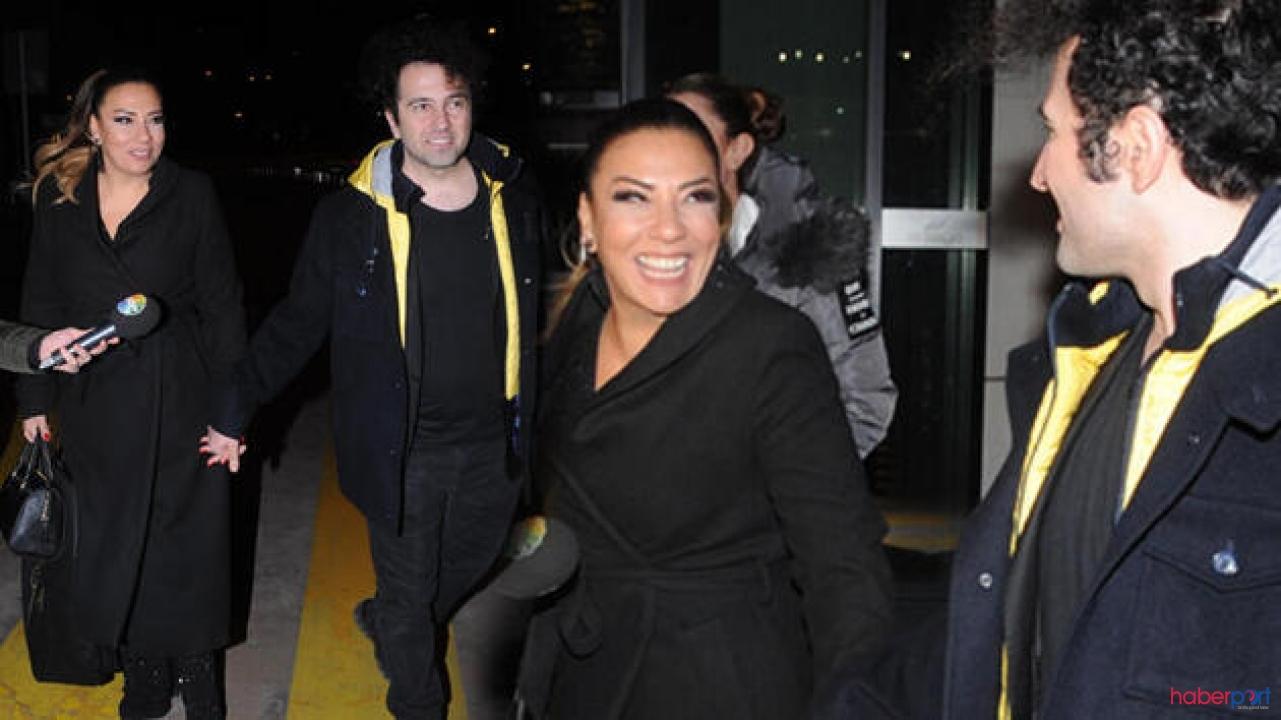Işın Karaca sevgilisi Can Yapıcıoğlu ile ilk kez ele ele