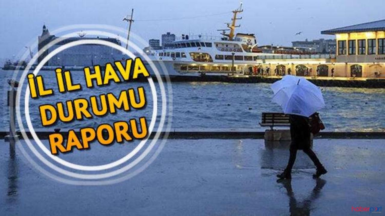 İstanbul'da hava güneşli geçerken Meteoroloji 3 ile kar uyarısı yaptı