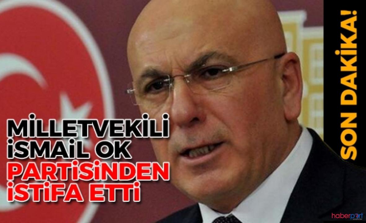 İYİ Partili İsmail Ok, partisinden istifa ederek ayrıldı