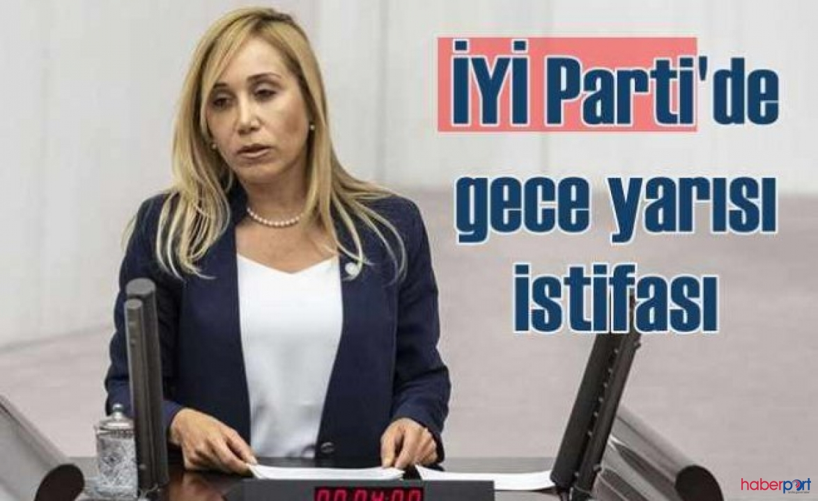 İYİ Partili Tuba Vural Çokal'dan tepkili istifa!
