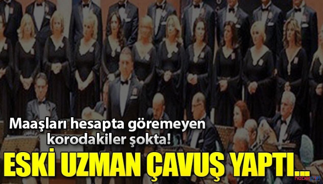 İzmir Devlet Korosu mutemet tarafından dolandırıldı