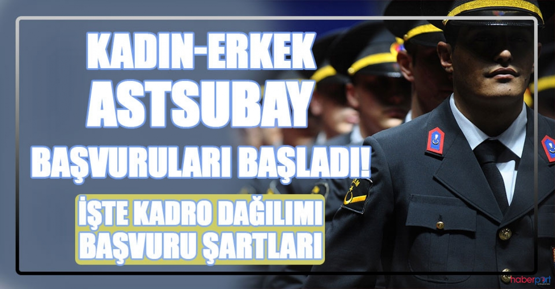 Jandarma sözleşmeli astsubay alım başvuruları başladı! Başvurular nereden yapılacak?