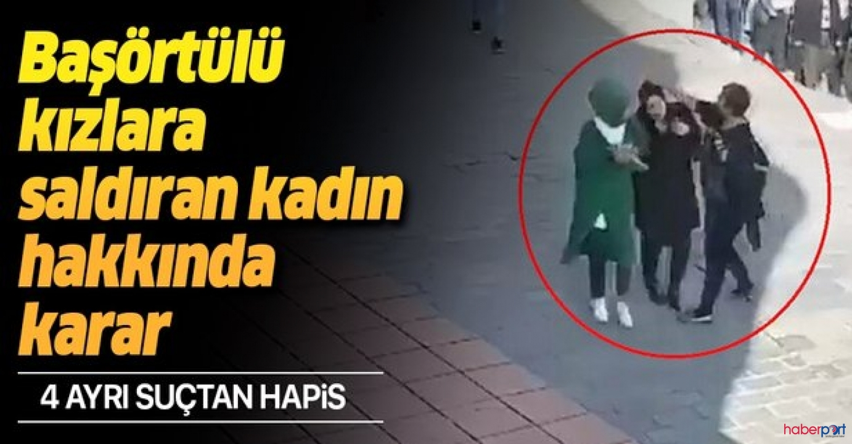Karaköy'de saldırıya uğrayan baş örtülü kızların davaları sonuçlandı