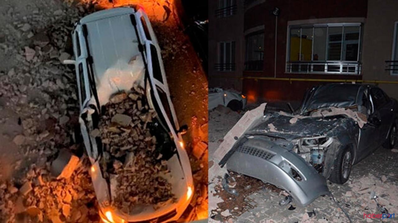Kayseri'de şiddetli rüzgar çatıları uçurdu, Üç ilçede okullar tatil edildi