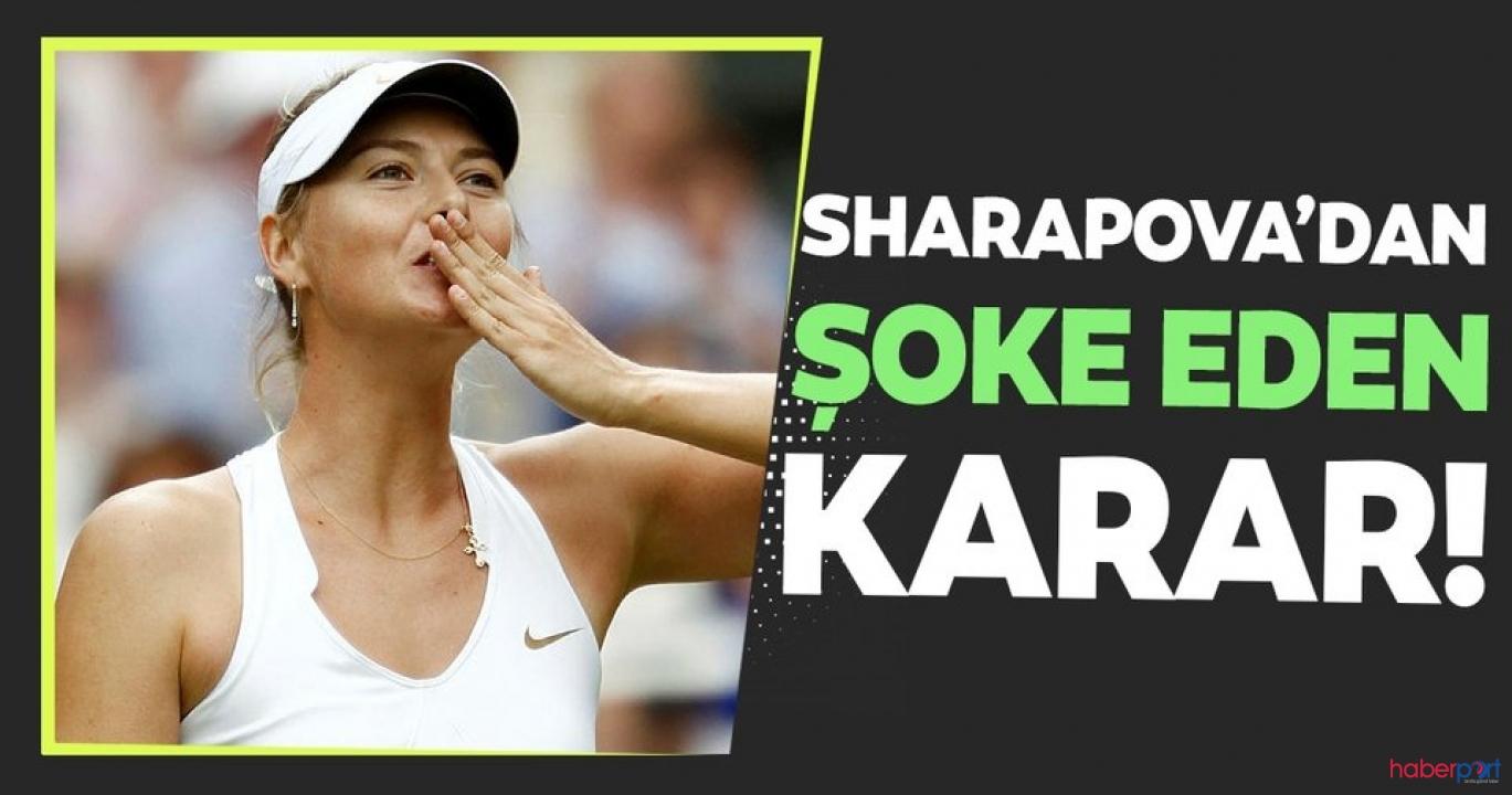 Maria Sharapova, tenisi bırakarak kariyerine son noktayı koydu