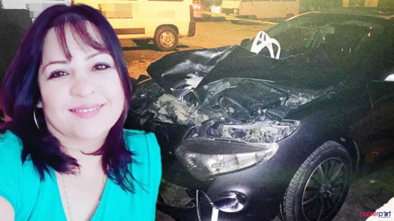 Motorsikletiyle çarptığı aracın ön camından giren kadının feci ölümü