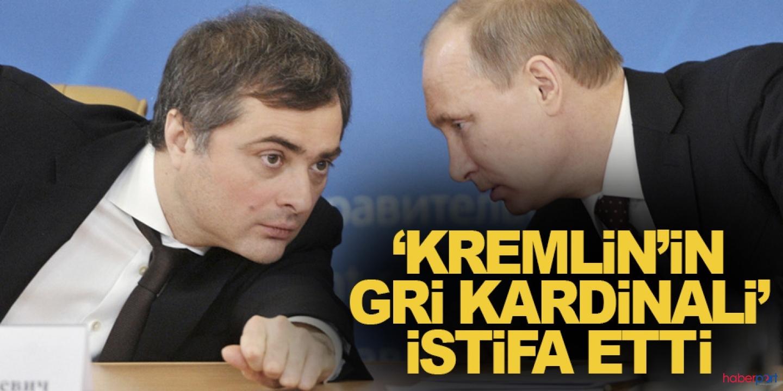 Putin, yardımcısı Vladislav Surkov'un görevine son verdi
