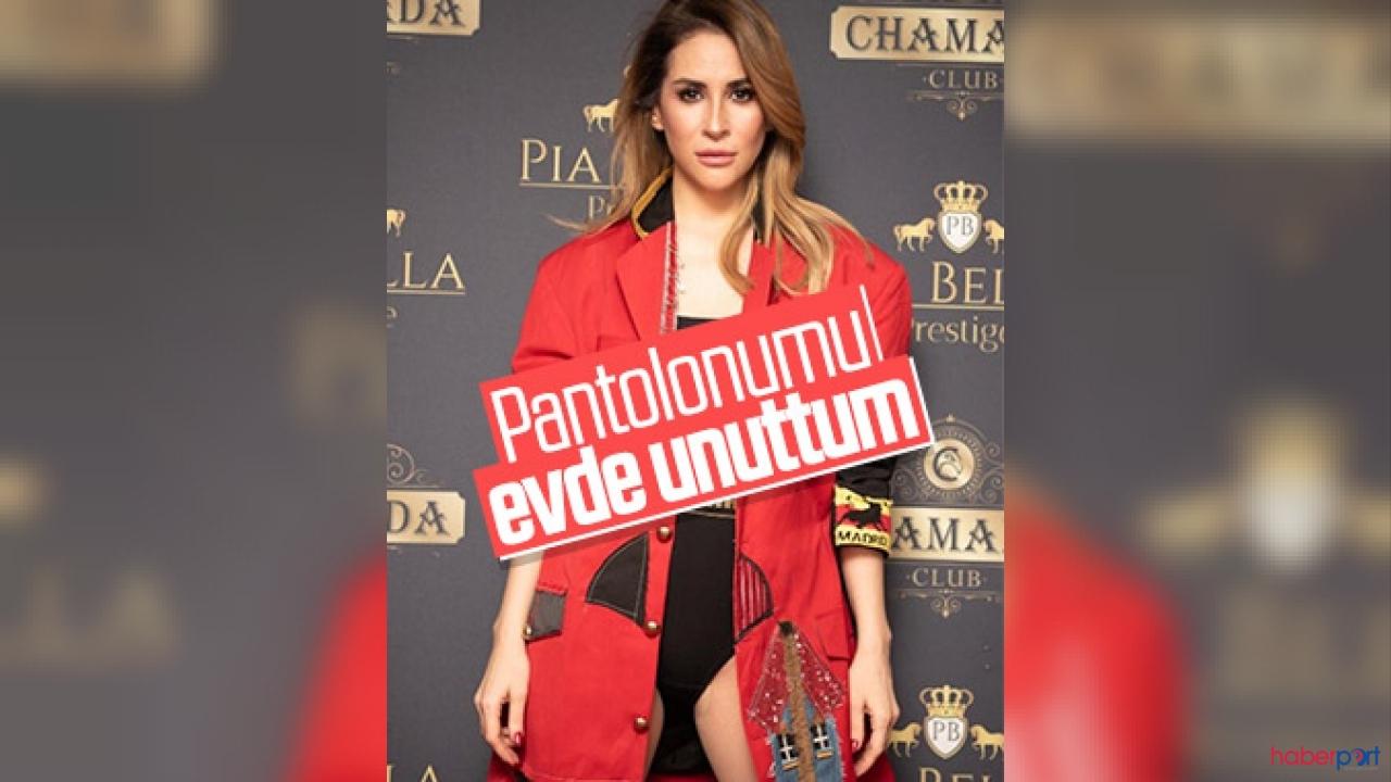 Şarkıcı Aynur Aydın'ın iddialı sahne kıyafeti