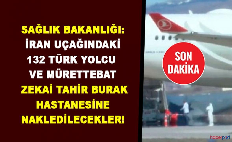 Tahran-İstanbul yolcu uçağındaki 132 yolcu ve mürettebat koronavirüs şüphesiyle gözlem altına alındı