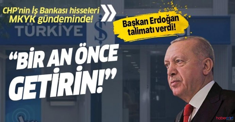 Taslak hazırlandı, CHP'nin İş Bankası'ndaki hisseleri Hazineye devrediliyor