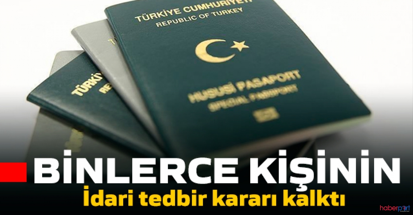 Tedbir kararı olan pasaportlarla ilgili Bakanlık'tan açıklama