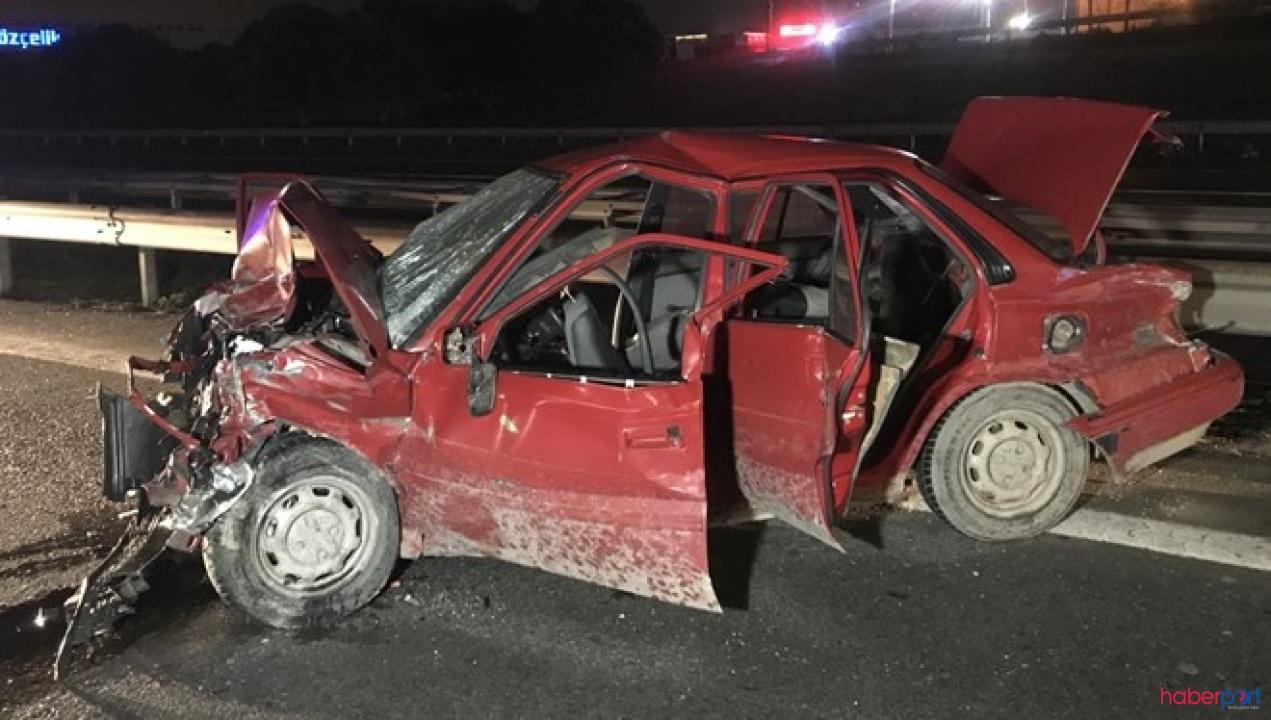 Tuzla TEM Otoyolunda trafik kazası! 2 Ölü