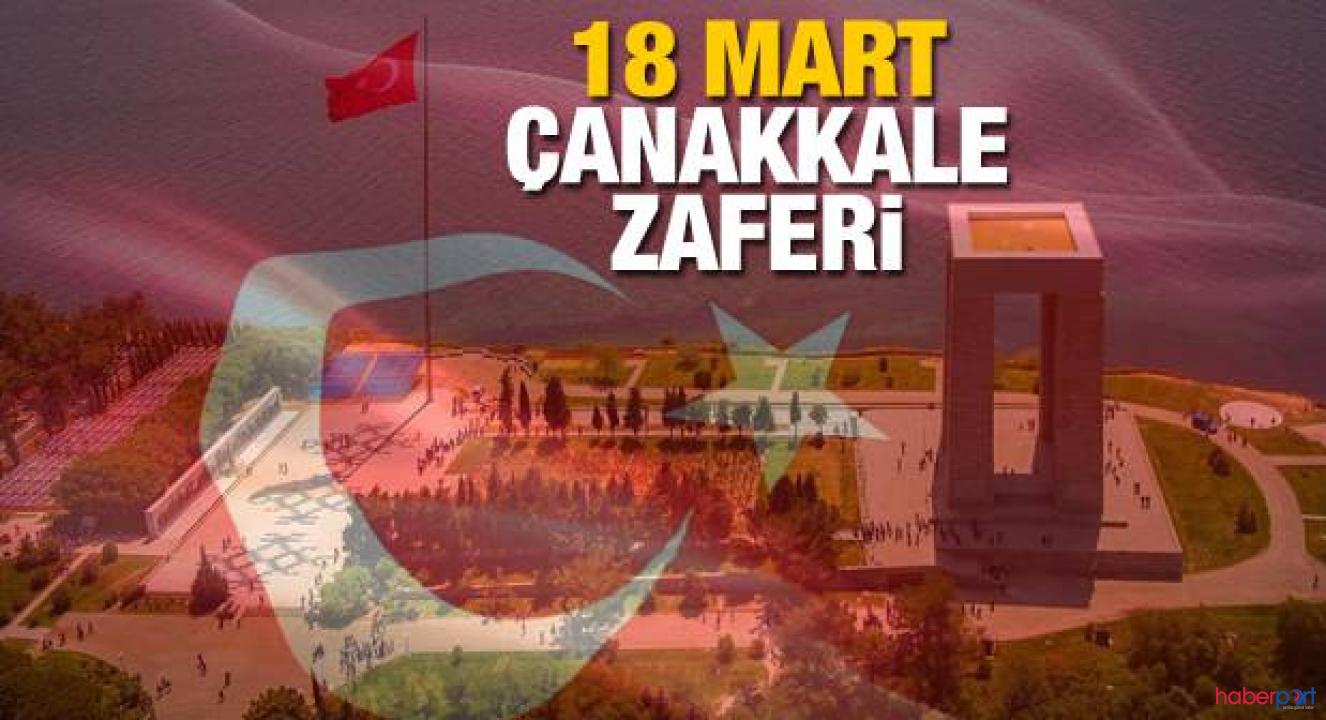 105. yıl önce yazılan tarihi zafer '18 Mart Çanakkale Zaferi'
