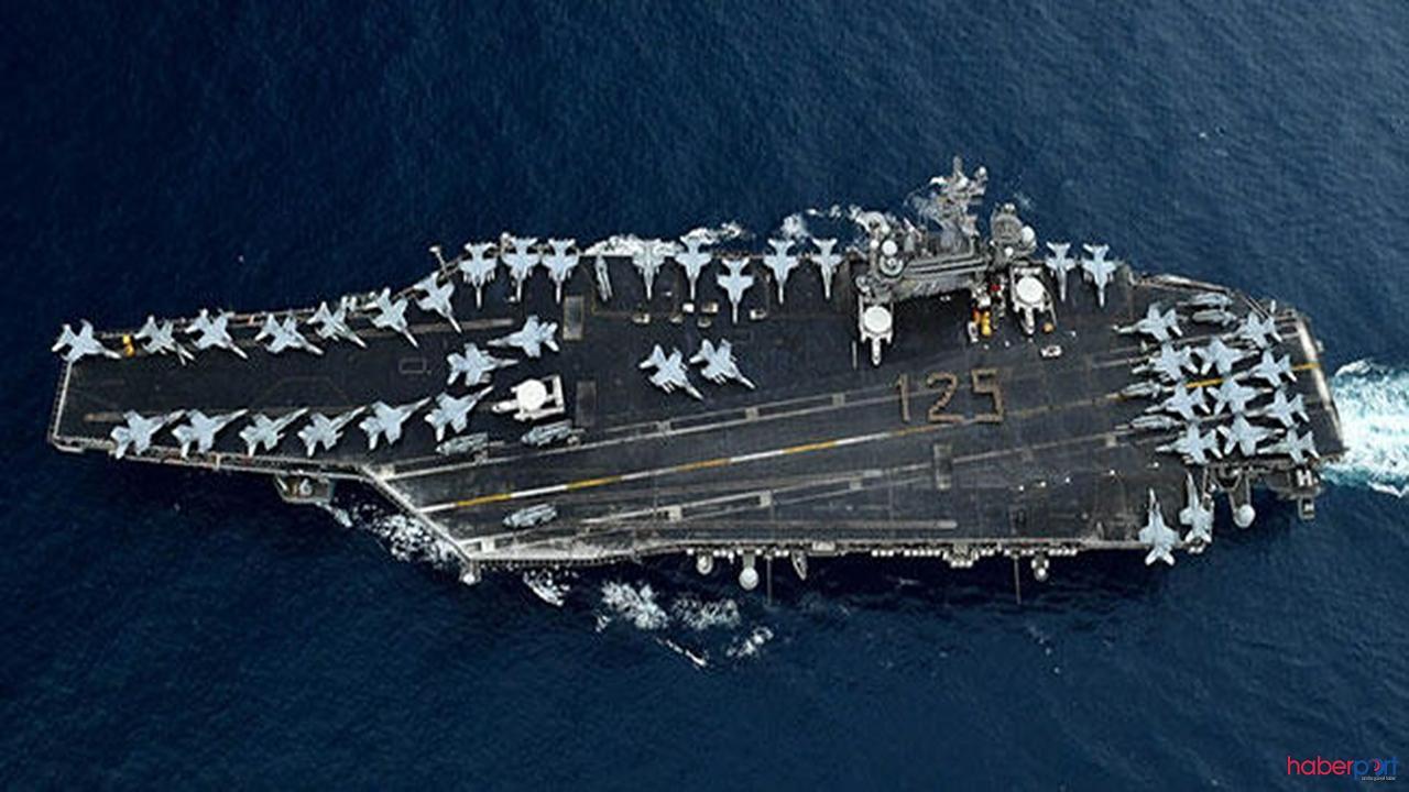 ABD'nin 5 bin kişilik uçak gemisinde korona paniği!