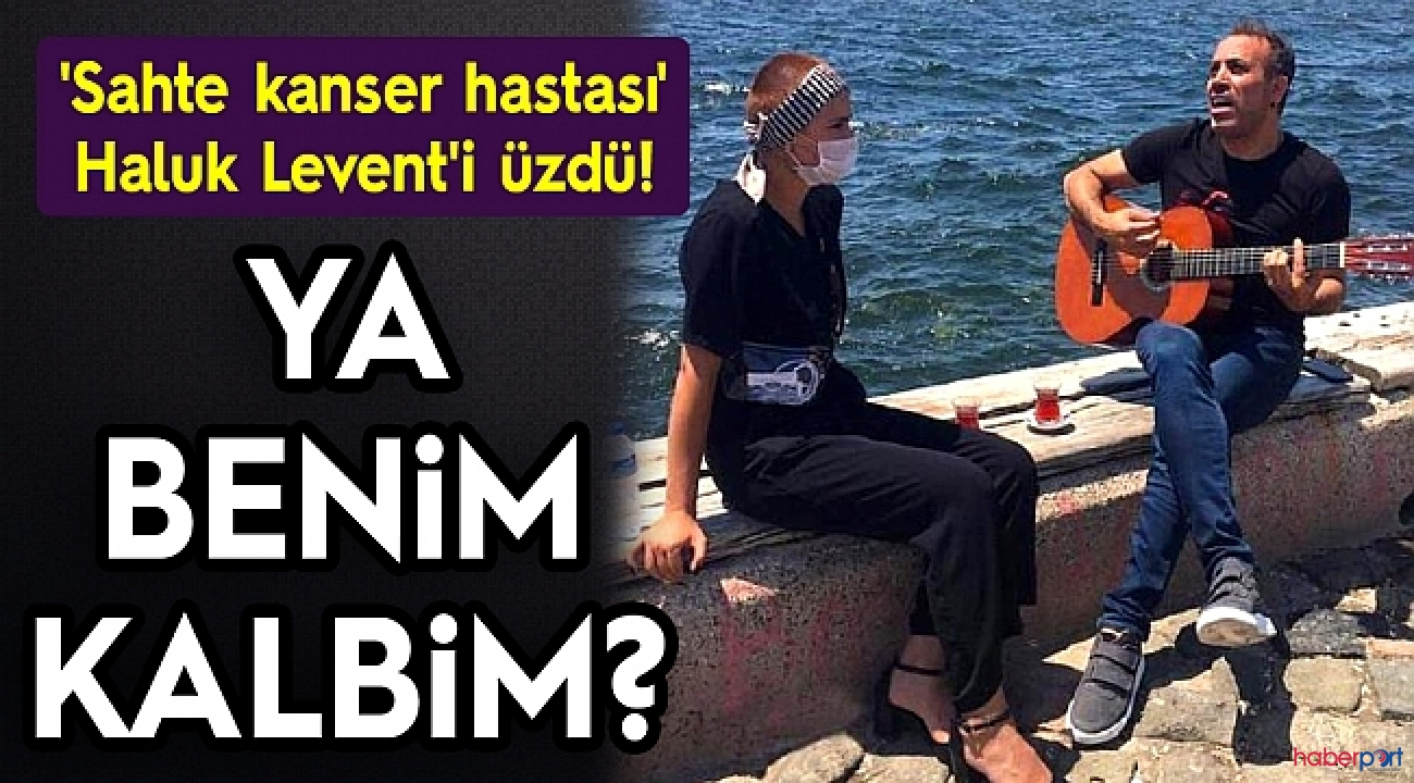 Ahbap platformunun yardımsever patronu Haluk Levent kandırıldı!