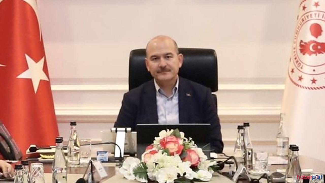 Bakan soylu 81 il'in valisinden video konferans sistemiyle brifing aldı