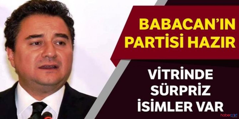 Bakanlığa dilekçesi verilen Ali Babacan'ın partisinin ismi ve kurucuları netleşti