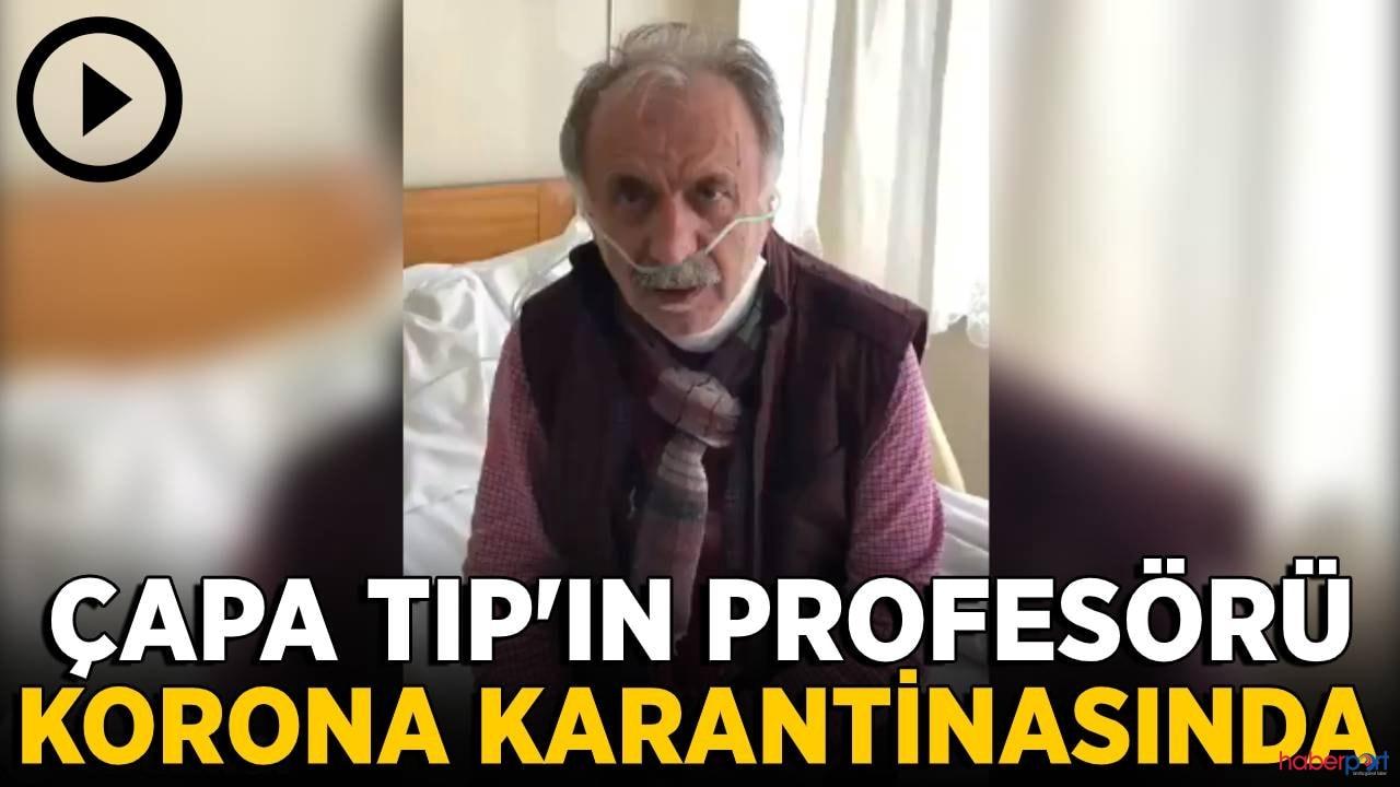 Çapa Tıp Fakültesi Profesörü Cemil Taşcıoğlu, koronavirüsüne yakalandı