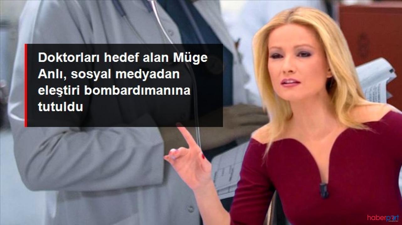 Doktorları eleştiren Müge Anlı sosyal medyada adeta linç edildi!