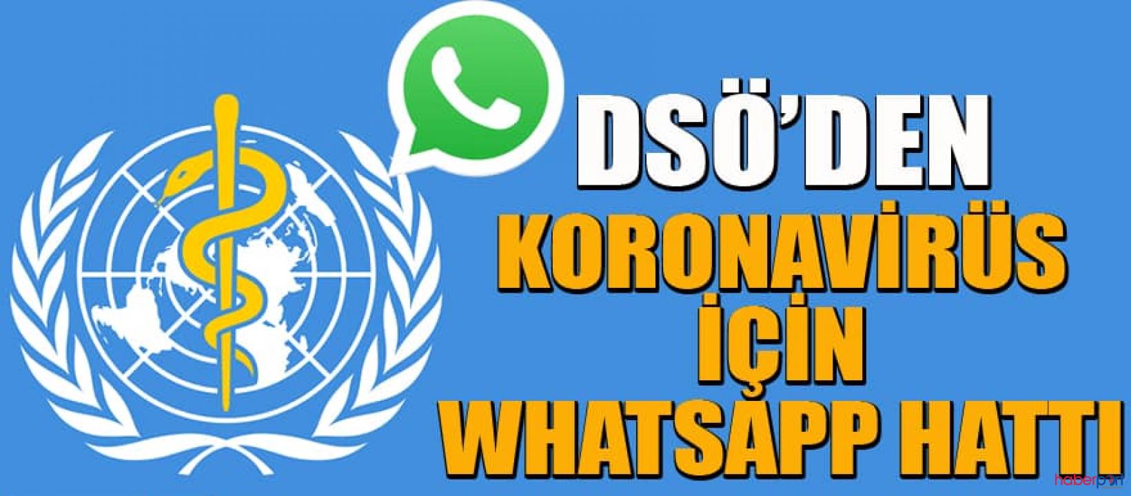 Dünya Sağlık Örgütü öncülüğünde koronavirüs WhatsApp hattı kuruldu