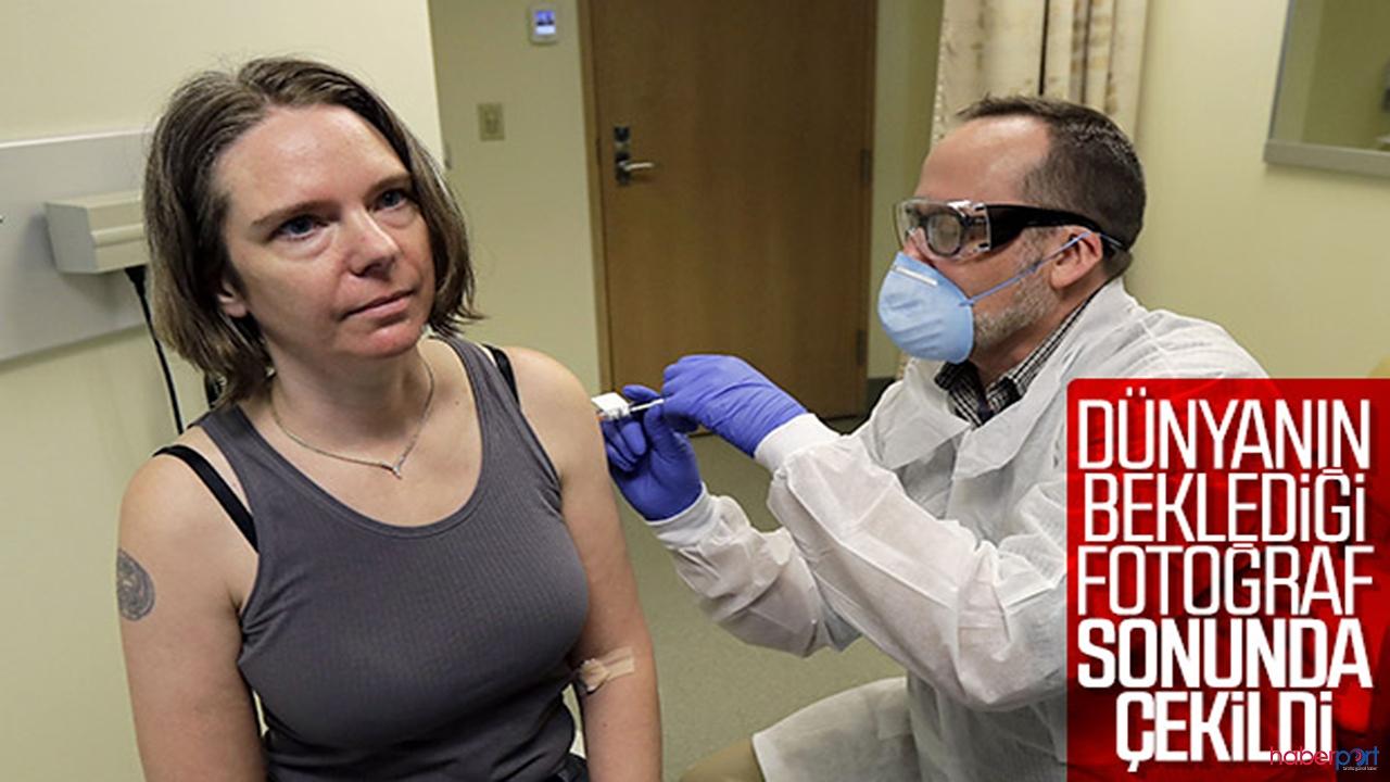 Dünyanın gözü kulağı o haberde! koronaya karşı ilk aşı vuruldu