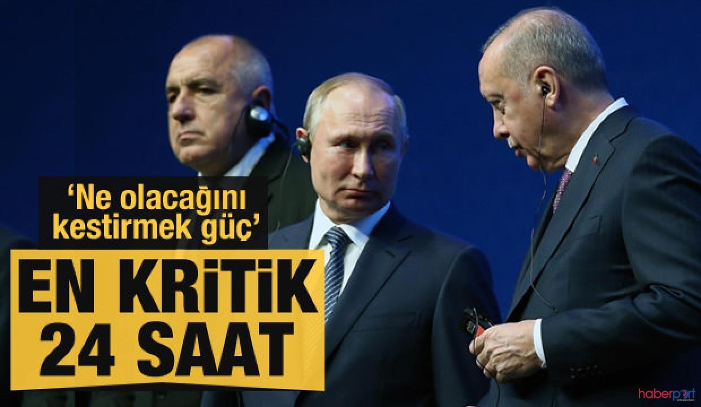 Erdoğan-Putin zirvesi öncesinde Rusya'dan Suriye'ye atağı