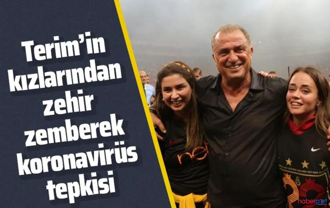 Fatih Terim'in kızı Buse Terim isyan etti!