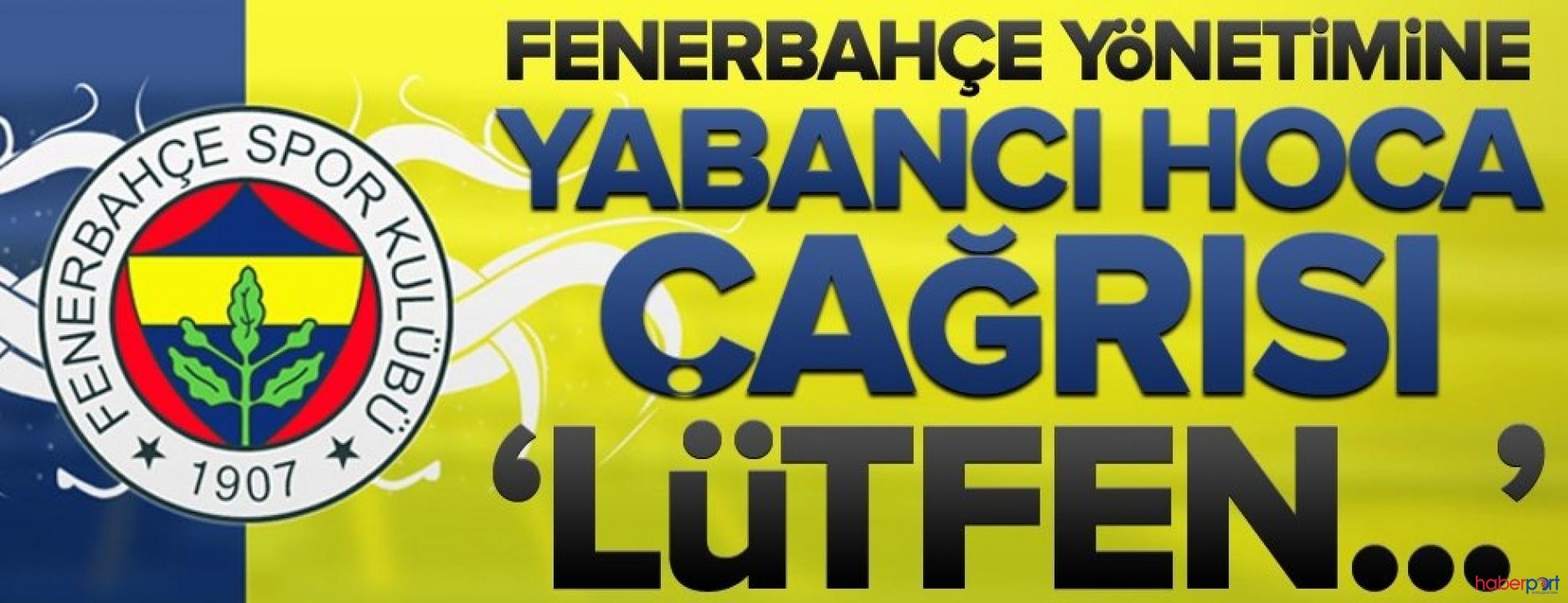 Fenerbahçe'de yabancı hoca defteri kapandı