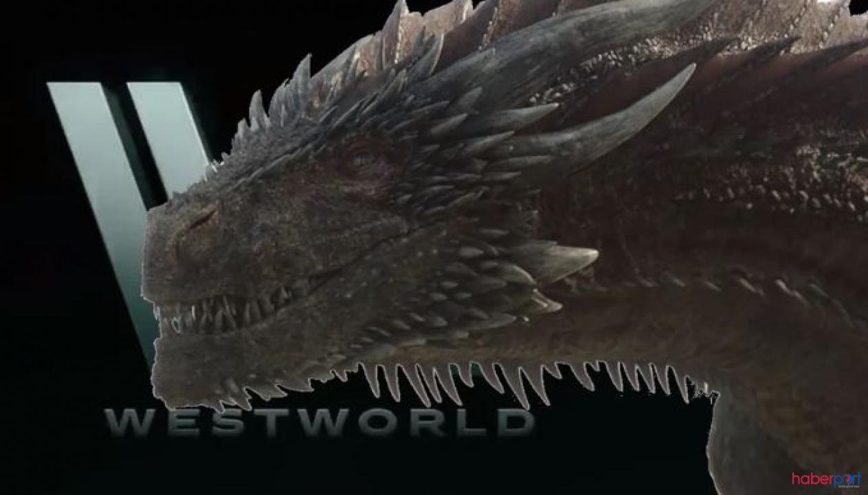 Game Of Thrones'dan Westworld'e gelen küçük(!) misafir