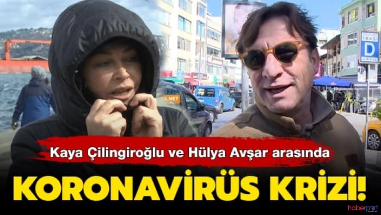 Hülya Avşar'da eski eşi Kaya Çilingiroğlu'da sert ayar!